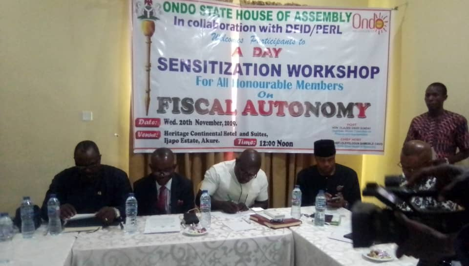 Fiscal Autonomy Crucial to Sustainable Democracy – Ondo Assembly Speaker