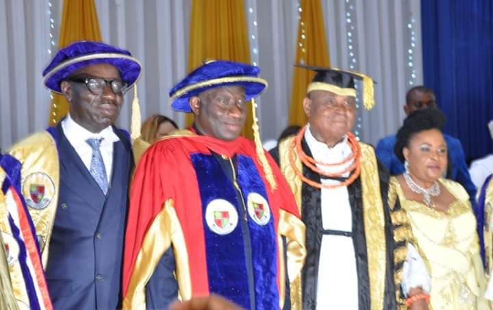 Jonathan, Obaseki harp on improved private sector funding for education, research