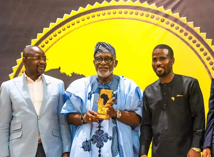 Gov Akeredolu Gets 'Most Entrepreneurial Friendly Governor In Africa' Award
