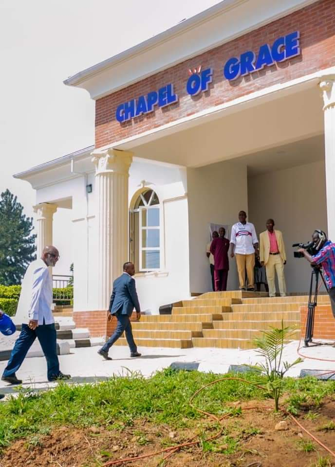 Akeredolu Builds New Government House Chapel