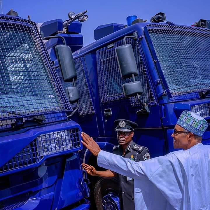 The Police Legacy I Want To Bequeath, By President Buhari
