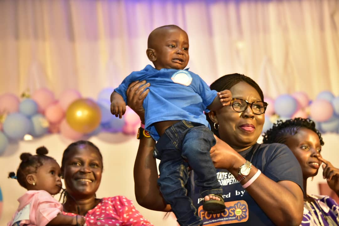 Quickest crawler crowned in Ondo baby race