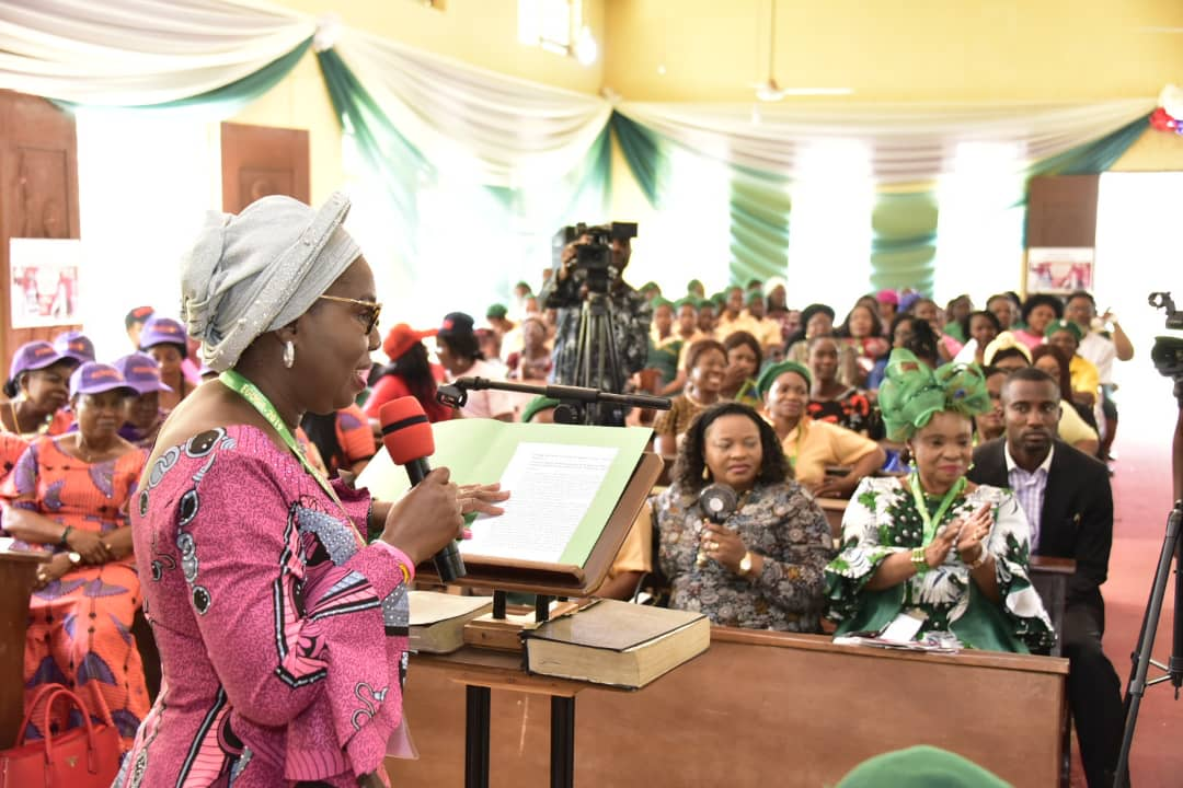 Keynote Address by Her Excellency, Betty Anyanwu-Akeredolu at the Winifred Hubbard Lecture on the 21st of December, 2019