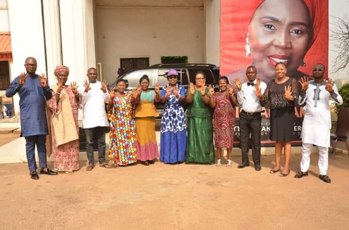 Mrs Akeredolu Meets SSA, SA Women and Youth Mobilization