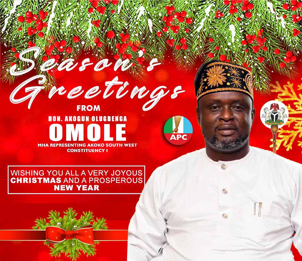 New Year 2020: Akogun Omole greets constituents