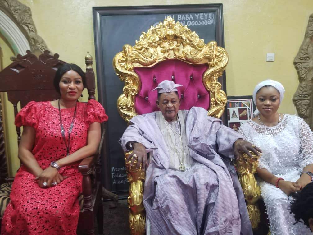 BRECAN takes advocacy to Alaafin of Oyo's palace