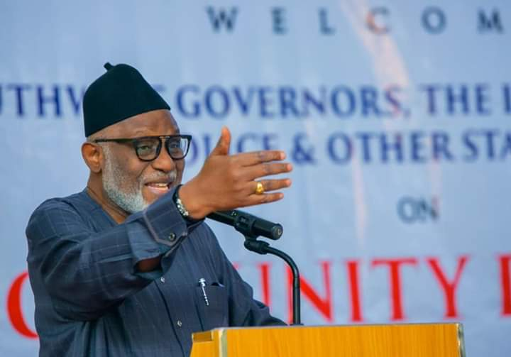 We will give what it takes to ensure the security of our people – Akeredolu