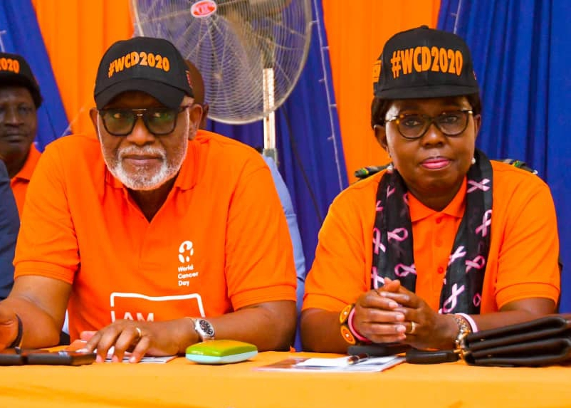 CACIN Town Hall Meeting: Akeredolu Assures Ondo People Of His Readiness  To Build Cancer Center
