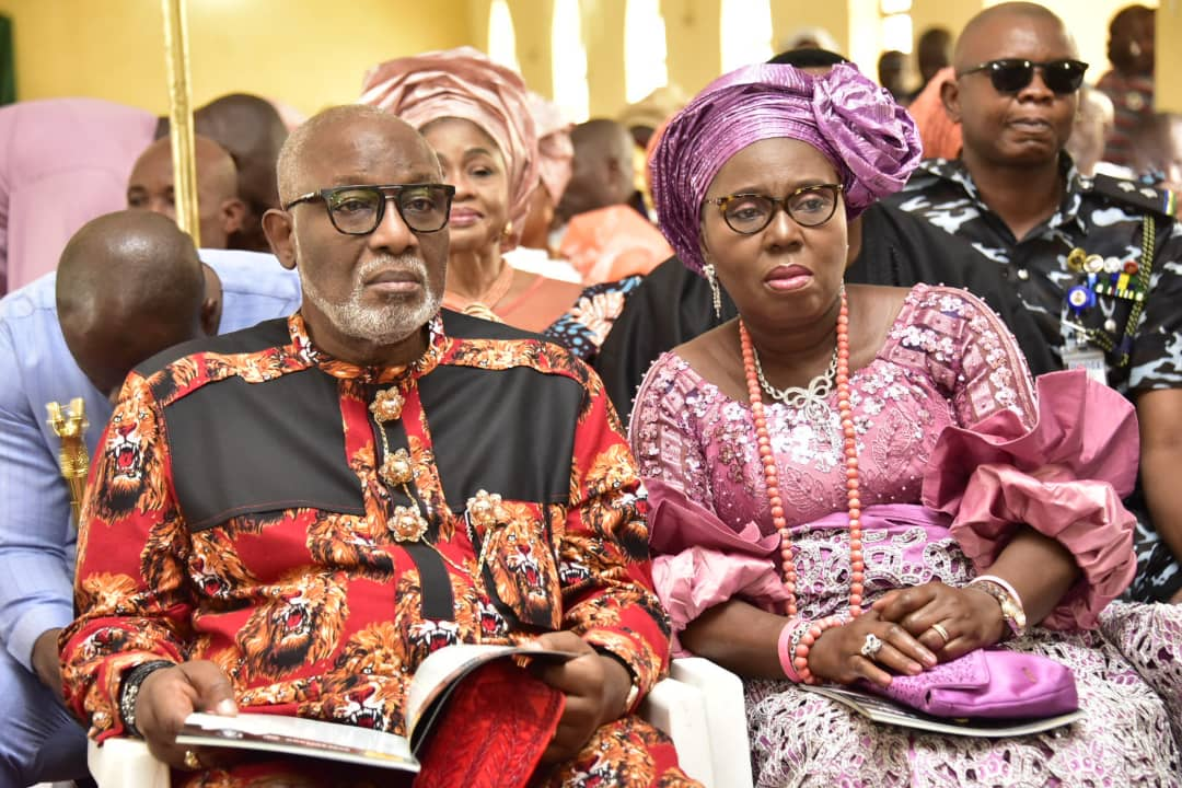 Fayemi, Uzodinma, others attend Ondo First Lady's Mother's Burial