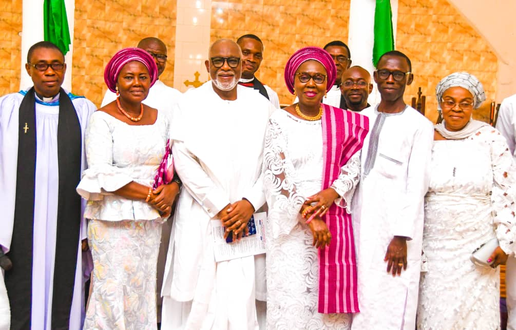 PHOTOS: Thanksgiving Outing Service For Mrs Akeredolu's late Mother