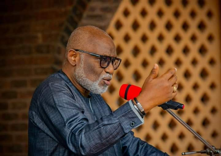 COVID-19: Confirmed case has little or no expansion potential – Akeredolu