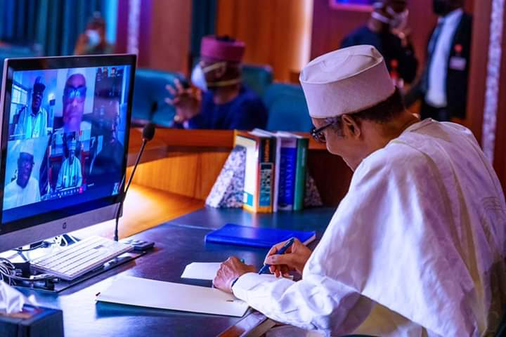 COVID-19: Buhari urges governors to work closely with PTF