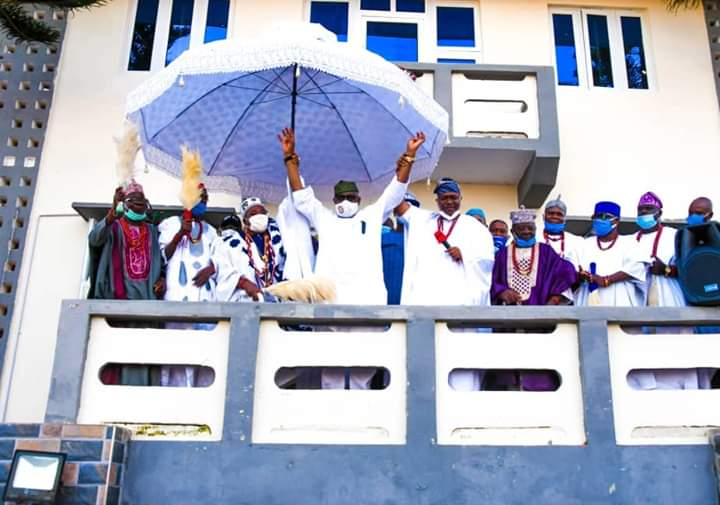 Ondo 2020: Olowo, Olufon, Other Traditional Rulers In Owo-Ose Declare Support For Akeredolu