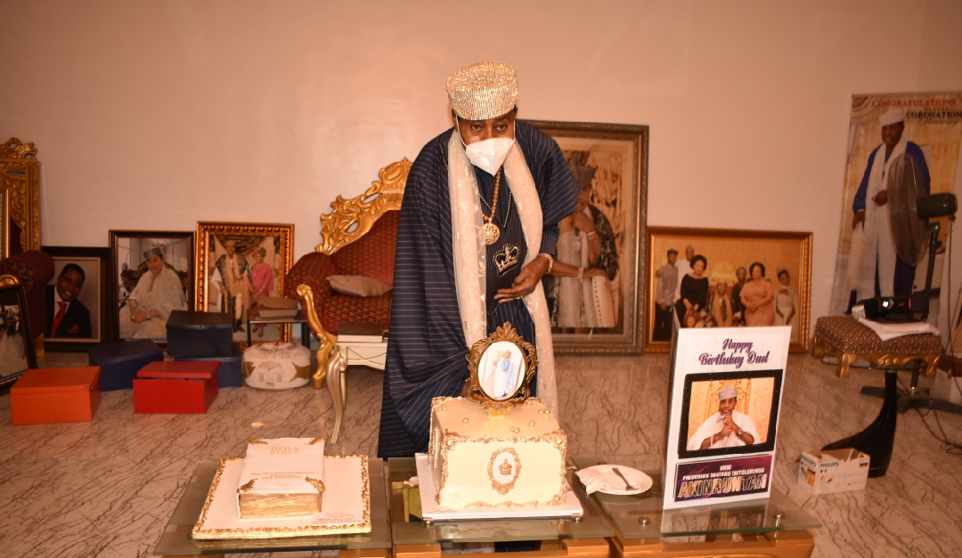 Olugbo marks 70th birthday, explains why Ondo monarchs adopted Akeredolu