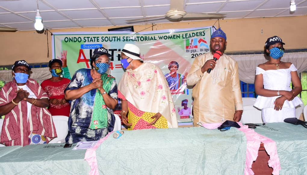 Okitipupa LG Boss hosts Ondo South Senatorial Women Leaders …. Says Akeredolu is Gender Friendly