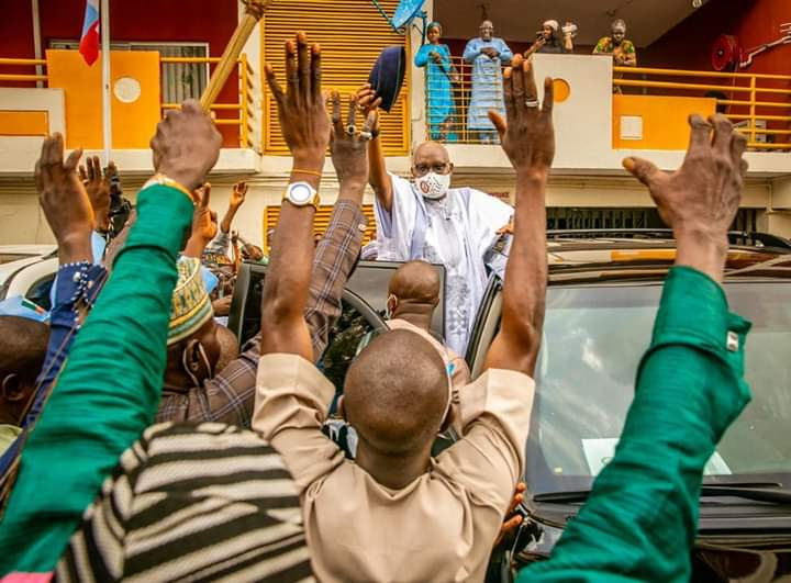 Of broom's energies, party reconciliation and Akeredolu's management of victory