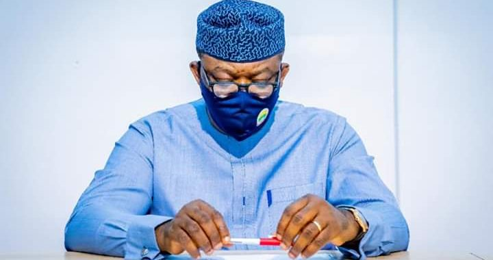 COVID19: Governor Fayemi tests Negative, Recovers after 11 Days in Isolation