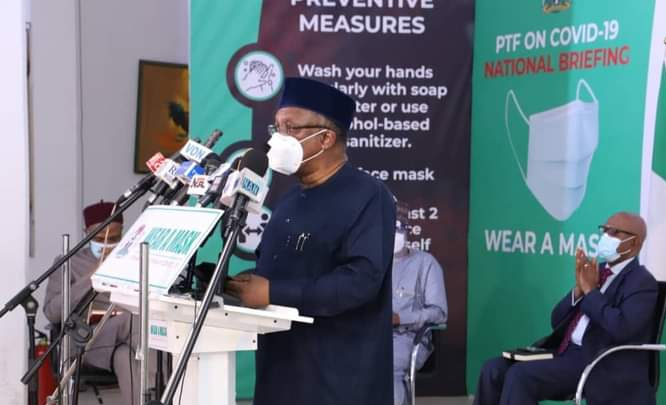 When economy reopens, danger looms if Nigerians don't observe non-pharmaceutical COVID-19 protocol, says Dr. Ehanire