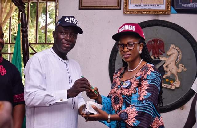 Ese-Odo First Female Council Boss Resumes Office