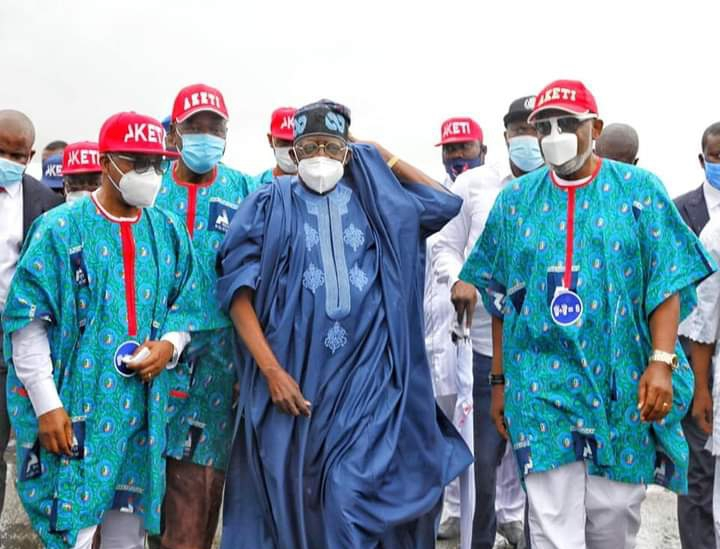 Tinubu, APC Governors, Ministers, others to Akeredolu: You have done well to deserve another round of Insignia of Power