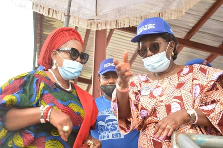 Ondo poll: Market women in Akoko assure Gov. Akeredolu of massive votes