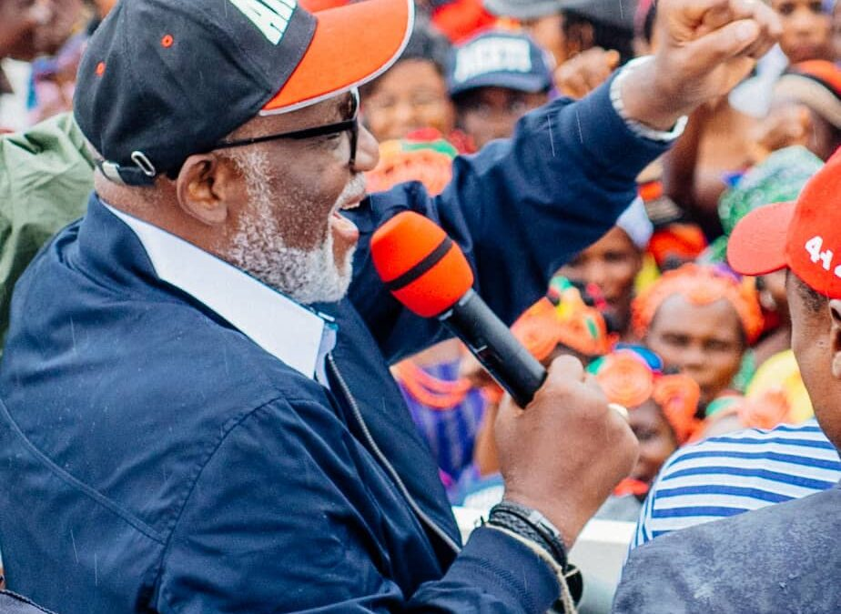 ONDO 2020: WE MUST NOT GAMBLE WITH THE FUTURE OF OUR STATE – GOV. AKEREDOLU