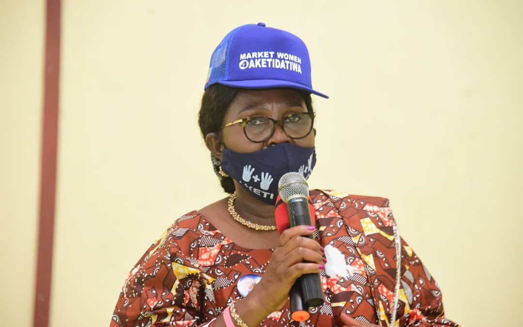 Every registered market woman 'll now receive loan directly, Mrs Akeredolu assures