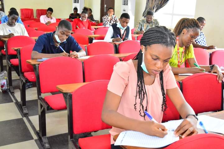 UNIMED Students write First Semester Exam