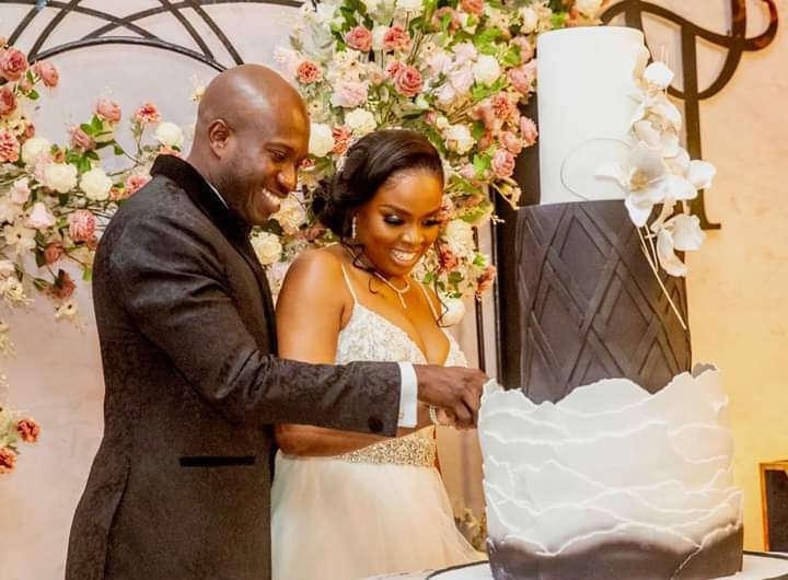 Glamour as Gov. Akeredolu's Aide-De-Camp Weds Heartthrob in Lagos