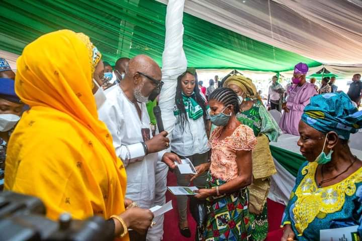 We're committed to lifting our women out of poverty – Gov. Akeredolu