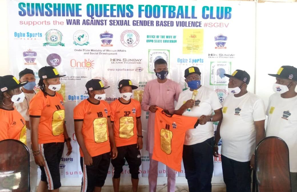SGBV: Sunshine Queens partner Ondo First Lady, become campaign's Ambassadors