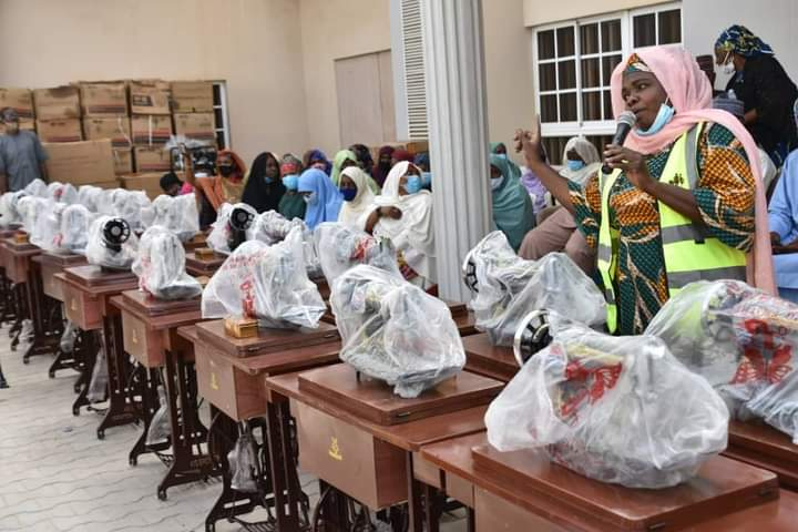 Aisha Buhari empowers Thousands of Women and Youth