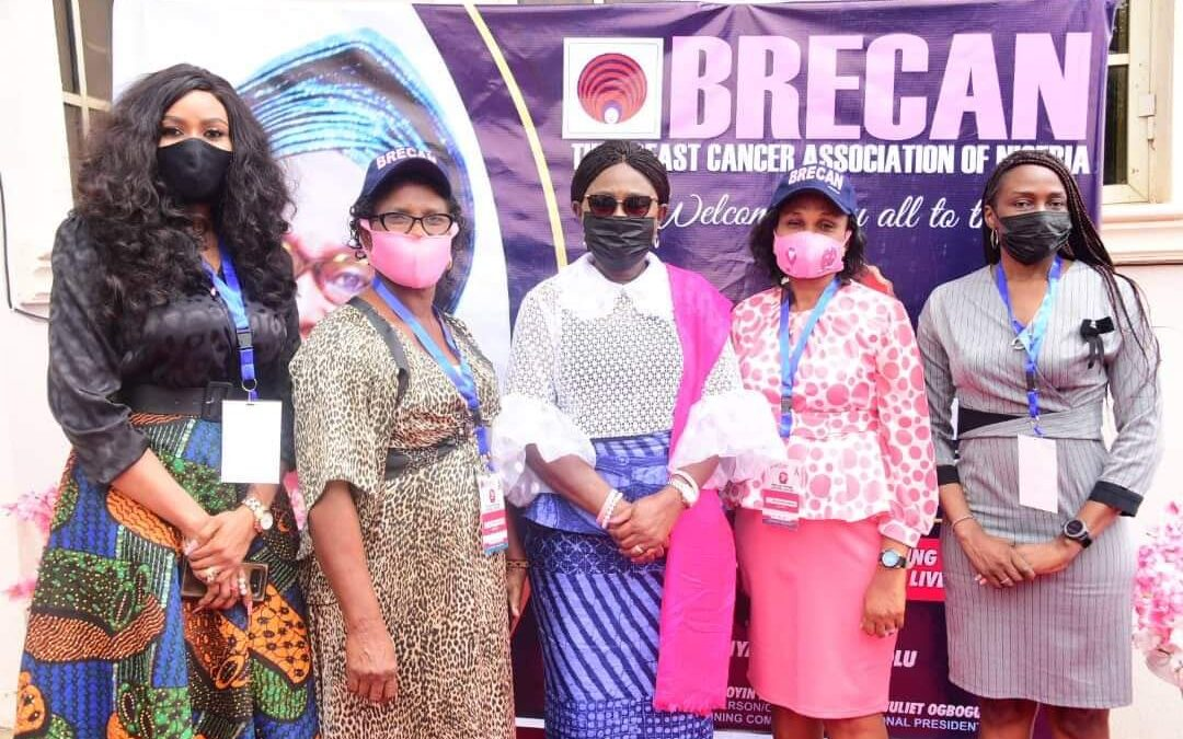 PHOTO NEWS: Ondo First Lady with BRECAN state Chairpersons at the BRECAN's first AGM in Akure