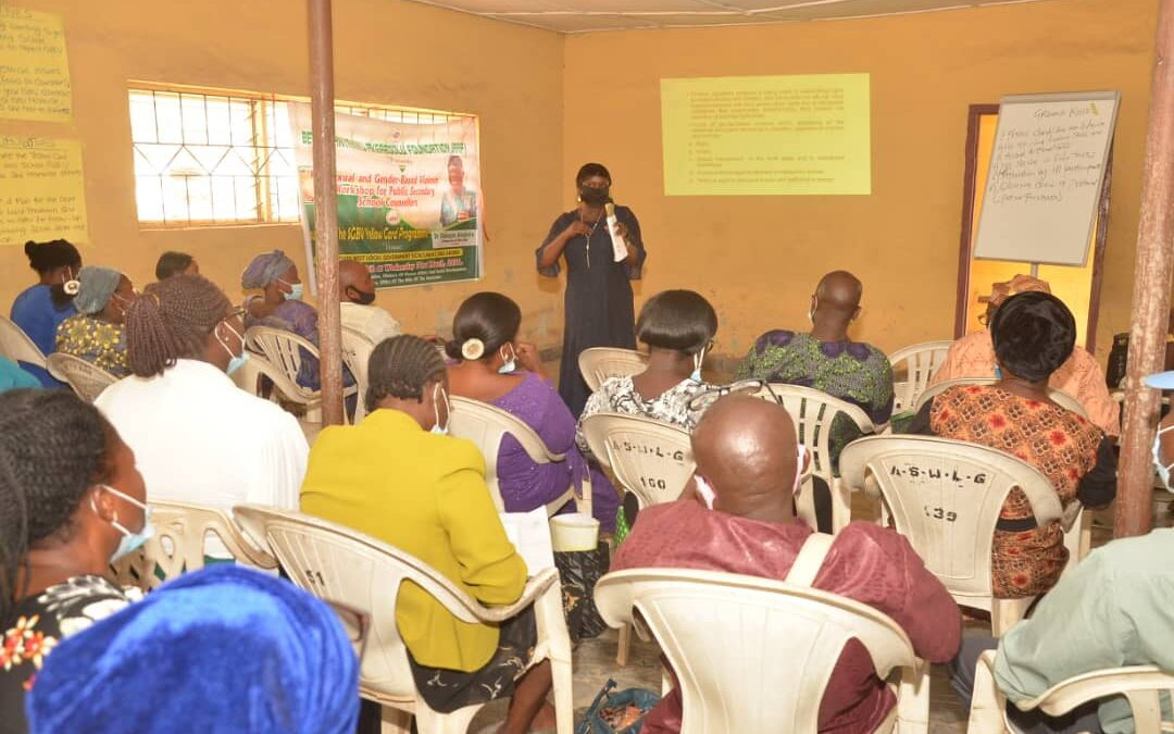 School Counsellors Applaud Mrs. Akeredolu as Akoko Southwest Hosts  SGBV Workshop