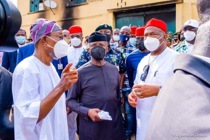 FEDERAL GOVERNMENT WILL FISH OUT CRIMINALS AND BOOST SECURITY AROUND CUSTODIAL CENTRES – AREGBESOLA