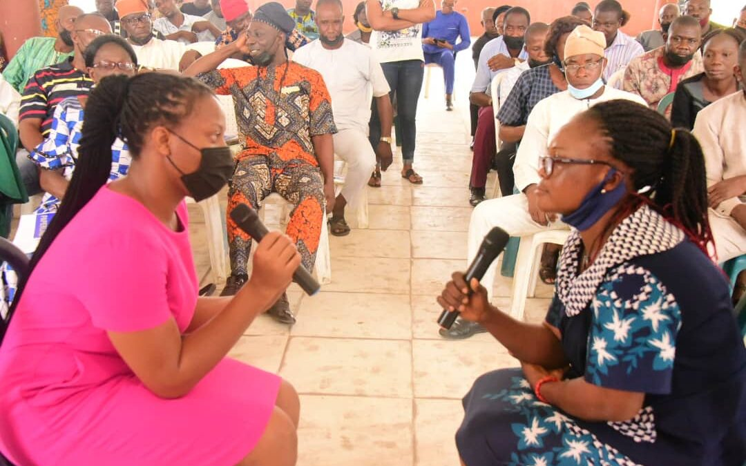 Mrs Akeredolu takes campaign against Sexual and Gender-based Violence to Schools