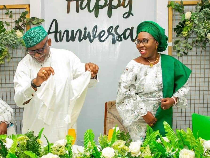 40th Wedding Anniversary: We'll not forget our humble Beginning – Akeredolu