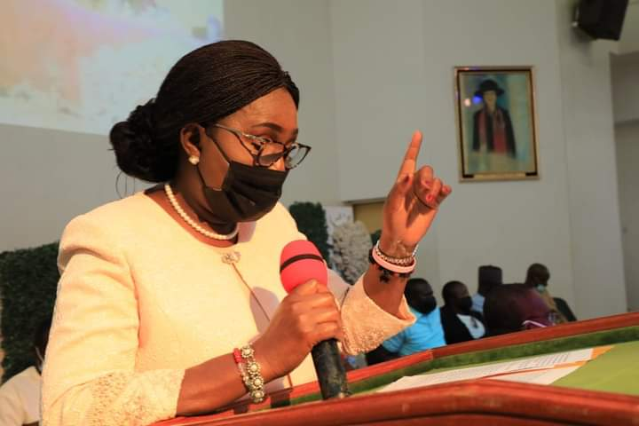 Mrs Akeredolu's Speech at the 4th Annual Nano Conference