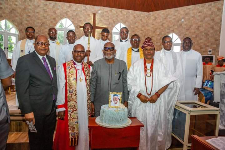 GOV AKEREDOLU @65: I'II NEVER DEPART THE PATH OF RIGHTEOUSNESS, JUSTICE