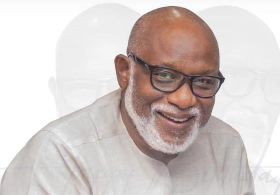 Ondo Lawmakers Salute Governor Akeredolu at 65