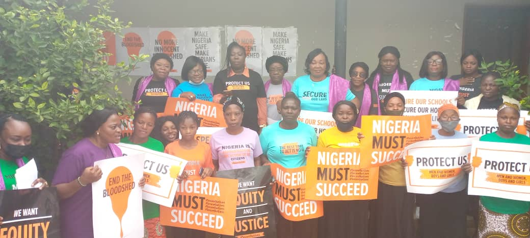 SECUREOURLIVESCAMPAIGN#-100Women Lobby Group Task Women To Brace Up, Speak Up In The Face Of Rising Insecurity…