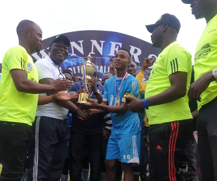 Olowo, Deputy Rector Commend Dr. Abiola Oshodi For Boosting Youths Sports In Ondo State