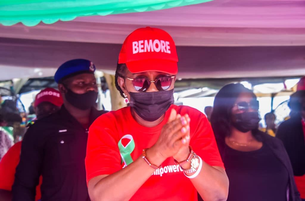 Be the Change Agents Nigeria Needs, Ondo First Lady, D-Gov, Nudge BEMORE Girls